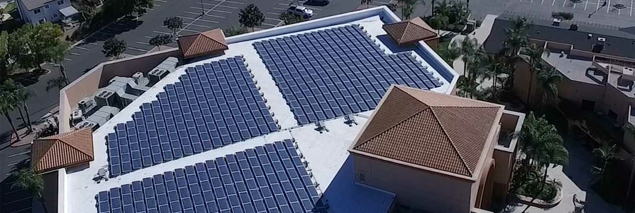 Tiger Electric Calvary Chapel Chino Hills Solar rooftop